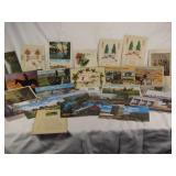 Antique and vintage postcards