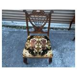 Early stick & ball parlor chair