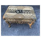 Carved ottoman wonderful carvings
