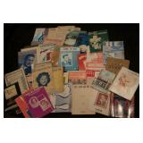 HUGE lot of Early Sheet Music and Song Books