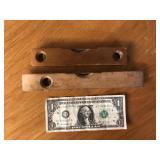 (2) Vintage Wood Torpedo Levels