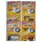 4 pcs. 1993 Matchbox Die-Cast Metal Series Vehicle