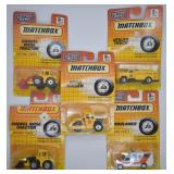 5 pcs. 1993 Matchbox Die-Cast Metal Series Vehicle