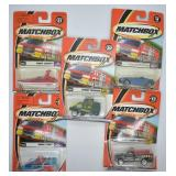 5 pcs. 2000 Matchbox Police Patrol Series Vehicles