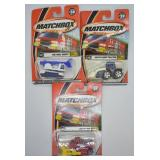 3 pcs. 2000 Matchbox Police Patrol Series Vehicles