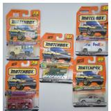 5 pcs. 1999 Matchbox Rough n Tough Series Vehicles