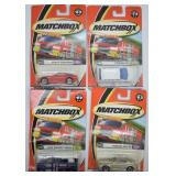 4 pcs. 2000 Matchbox Police Patrol Series Vehicles