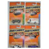 4 pcs. 2009 Matchbox Assorted Series Vehicles