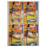 4 pcs. 2007 Matchbox Ready for Action Series
