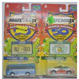2 pcs. 2001 Matchbox Across America Series