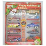 2002 Hotwheels Holiday Gift Pack w/ Bonus Watch
