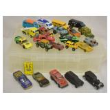 22 pcs. Vintatge Hot Wheels, Matchbox & More