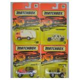 4 pcs. Matchbox Fast Lane Series Vehicles