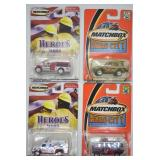 4 pcs. Matchbox Hero & Hero City Series Vehicles