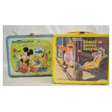 2 pcs. Vintage Pop Culture Lunchboxes