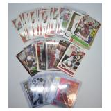 58 pcs. Larry Fitzgerald Football Trading Cards