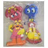 4 pcs. 1984 & 1987 McDonald
