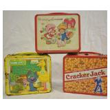 3 pcs. Vintage Metal Lunch Boxes