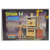 1994 Spawn Alley Action Play Set NIB