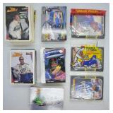 Large Lot of Nascar Trading Cards & Baseball Cards