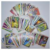 Large Lot of Marvel Comics Super Heroes Cards