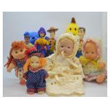 11 pcs. Vintage Misc. Dolls & Figures