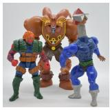 3 pcs. Vintage Action Figures