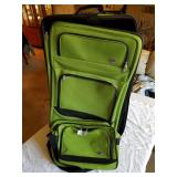 2pcs American Tourister suit case and overnight ba