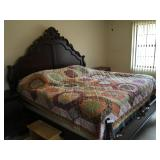 Solid Cherry King size bed Amazing