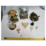 9 Pc Miscellaneous Bird & Floral Lot