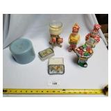 Lot of 7 Various Candles