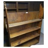 4 Level Wooden Shelf