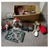 Box Lot of Miscellaneous Items-Several Wind Chimes