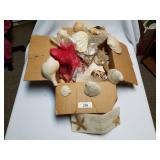 Large Box of Seashells, Starfish, Etc.
