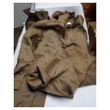 Clothing Items-2 Shirts, 3 Pants,Brown, Extra Larg