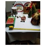 Large Lot of Christmas Items & Decorations