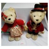 Pair of Stuffed Valentine Bears