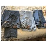 3 pair Vintage Wrangler Blue Jeans