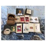 13 pcs of Hallmark keepsake ornaments +