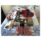 Large lot of Christmas décor