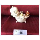 Scrub-A-Dub Tweety figurine by Lenox