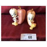 Lenox Tweety salt & pepper shakers