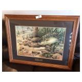 Fred W Thomas signed & Numbered Fish print