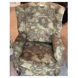World parlor wing back chair