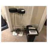 Bose 3-2-1 GS II radio Sub, 2 speakers
