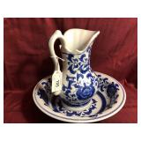 Vintage Ashley Belle Bowl & Pitcher set