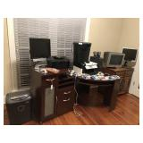 Large lot of electronics only, no furniture