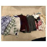 15pcs mens shirts, dress, polo, tee