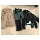 6pcs mens outdoor wear, jackets, overalls