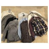 15pcs of mens dress shirts LS button down